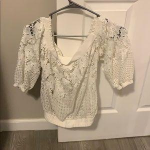 Off the shoulder shirt (bought in Columbia)